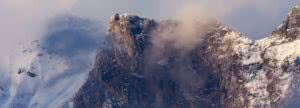 Ein Berg aufgenommen am Fotokurs bei der Fotoschule Baur, von Profifotograf Dominik Baur